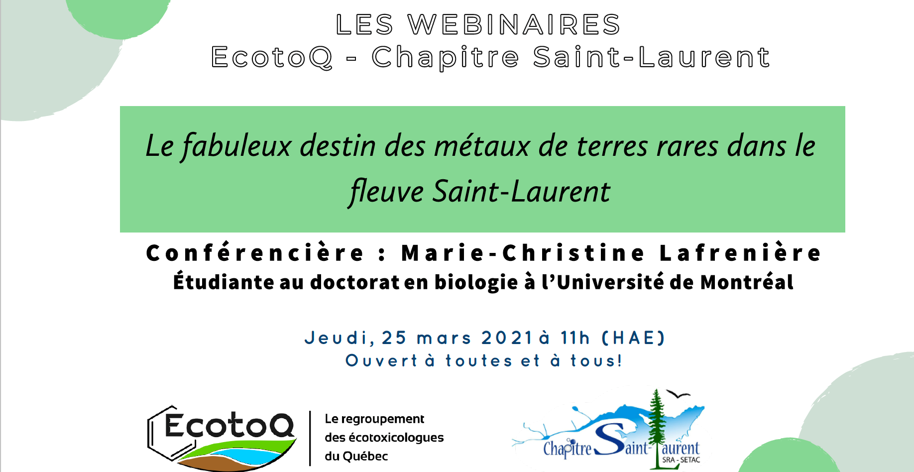 Webinaire EcotoQ – CSL #15!