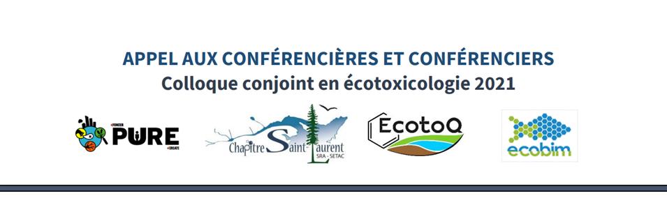 Appel aux conférenciers et conférencières pour le Colloque conjoint en écotoxicologie 2021